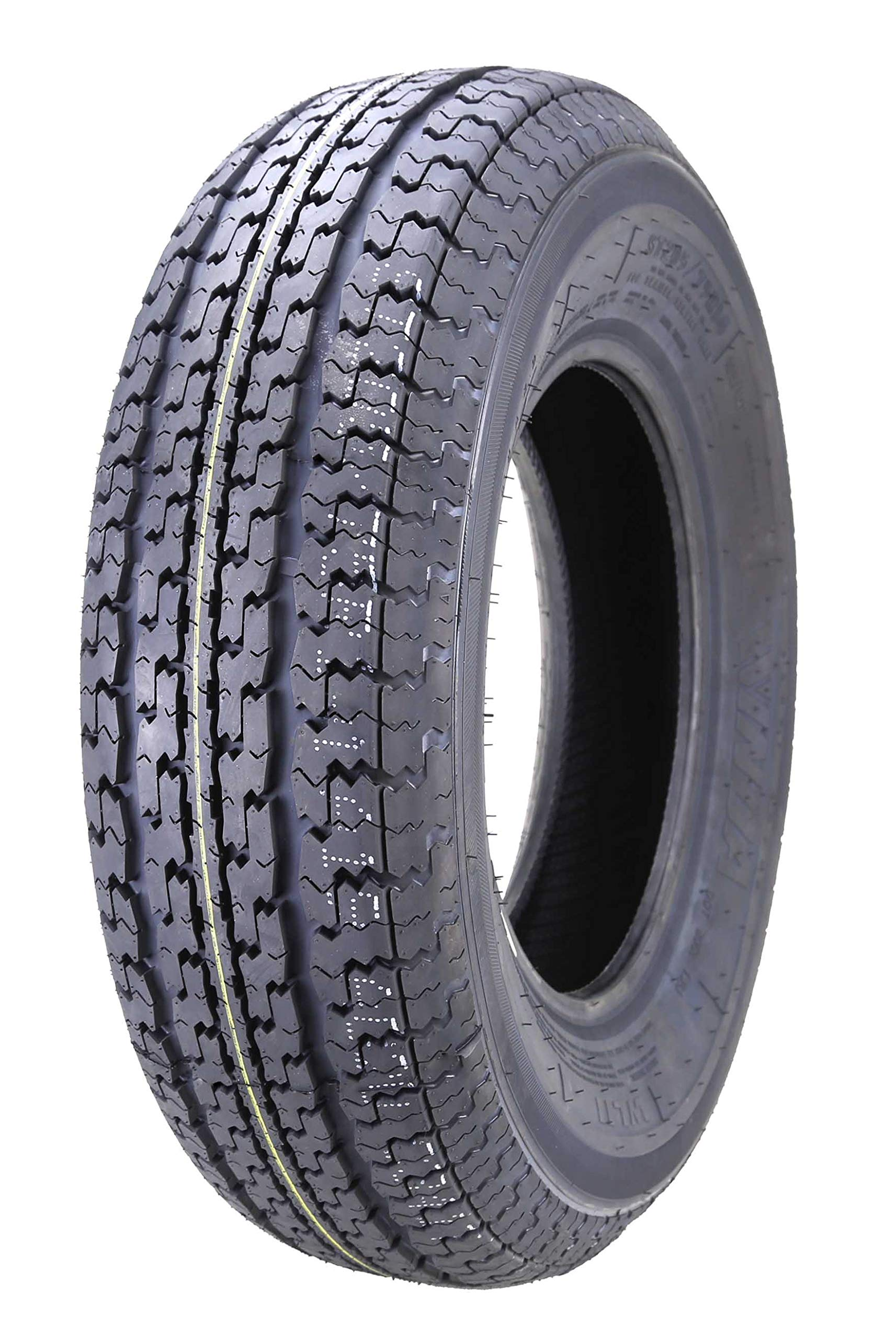 One New Premium WINDA Trailer Tire ST205 75R14 / 8PR Load Range D