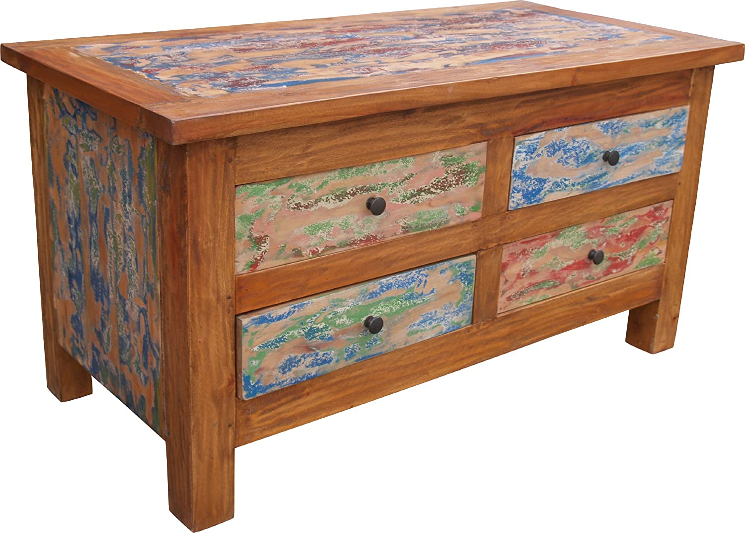 Comfashion Drawer Cabinet Sideboardmade Ofrecycled Wood Commodes