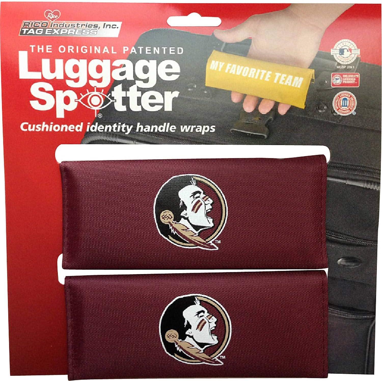 Collegiate Pulse Florida State Seminoles NCAA PVC Luggage TAG