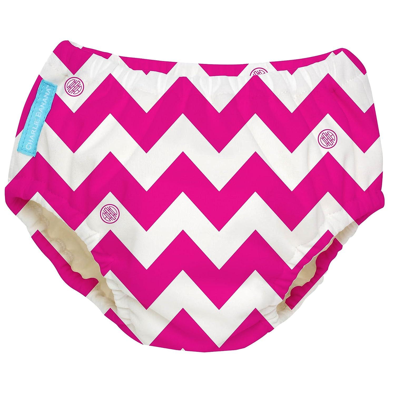 Charlie Banana Extraordinary Swim Diaper, Cupcakes Baby Pink, Small 889907
