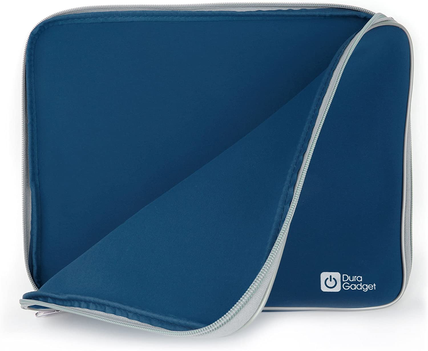 DURAGADGET Blue Neoprene Laptop Sleeve Case - Compatible with Acer Chromebook 15 CB5-571-C1DZ