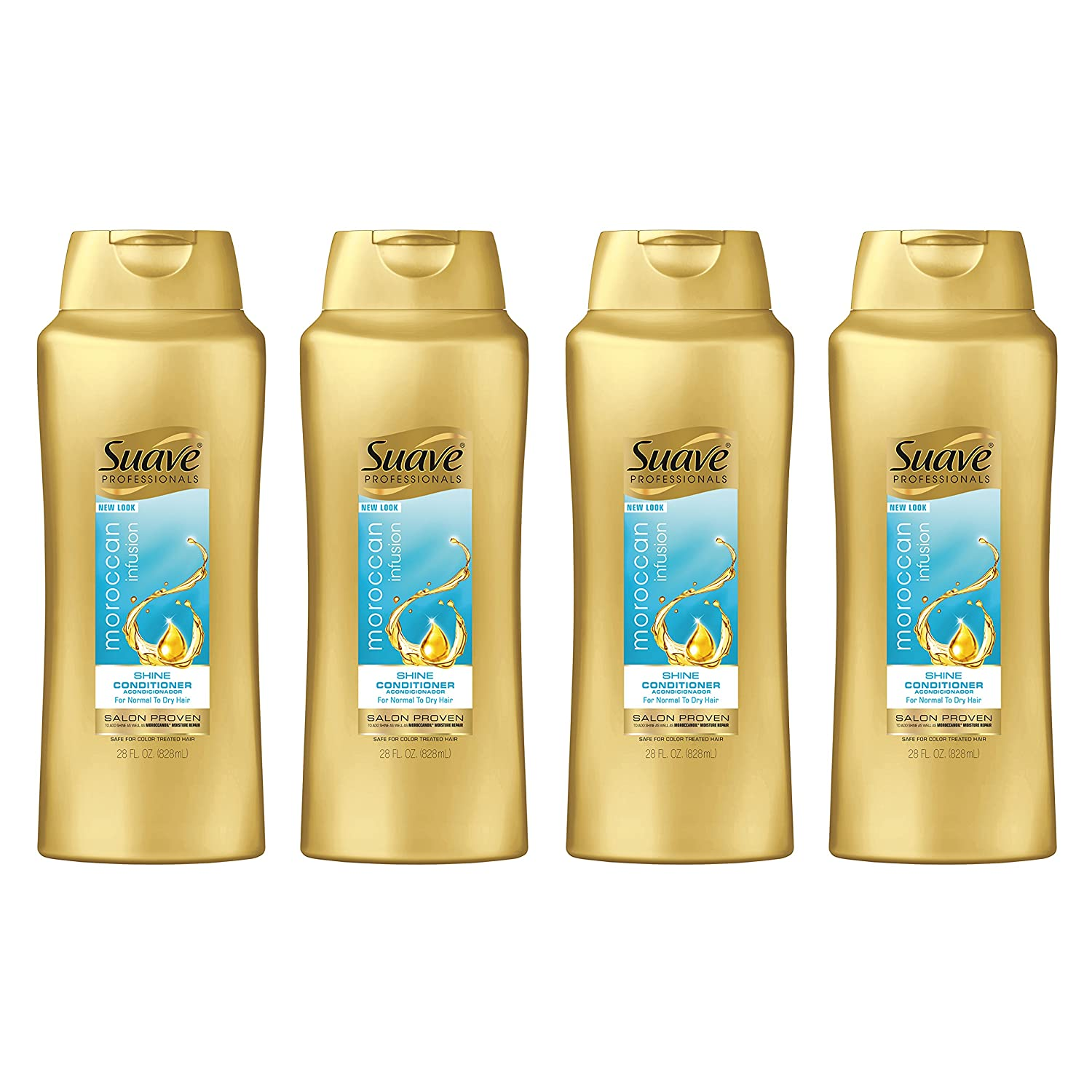 Suave Professionals Men Shampoo, Daily Clean Ocean Charge 12.6 oz (Pack of 6) Unilever 10079400128048