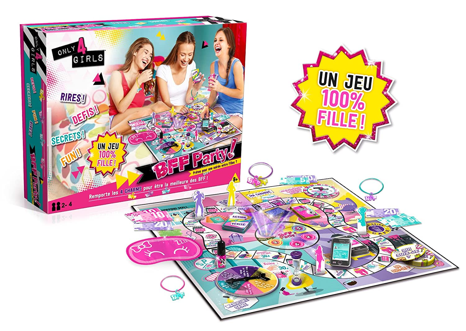 Only For Girls Bff Party CT28598 Canal Toys Loisir Créatif