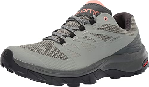 salomon men's outline gore-tex walking shoes zero