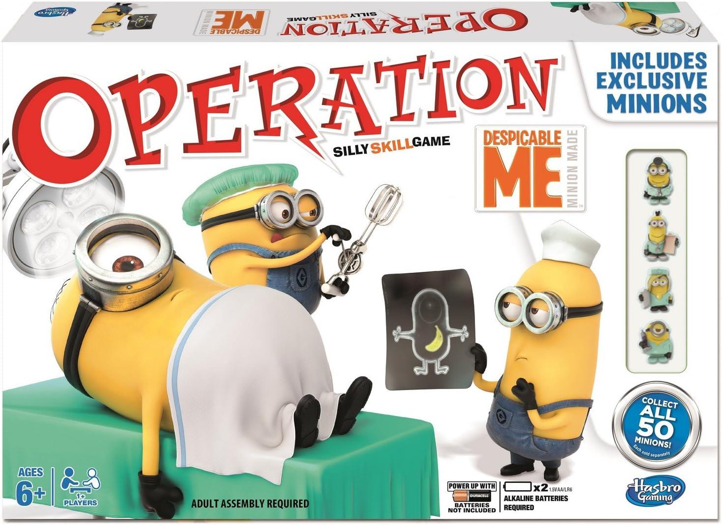 Hasbro Operación Despicable Me - Juego de Mesa: Despicable Me: Amazon.es: Juguetes y juegos