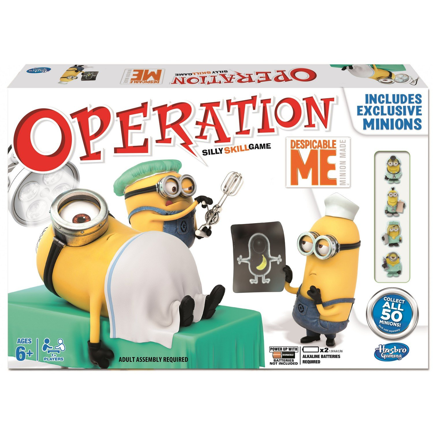 Hasbro Operation Despicable Me Board Game Amazon Toys & Games