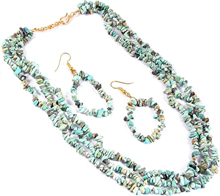 16 Inch Faceted Tumble Beads AAA Natural Indian Turquoise Faceted Uneven Shape Nuggets Necklace 8x13-10x19 MM Turquoise Beads
