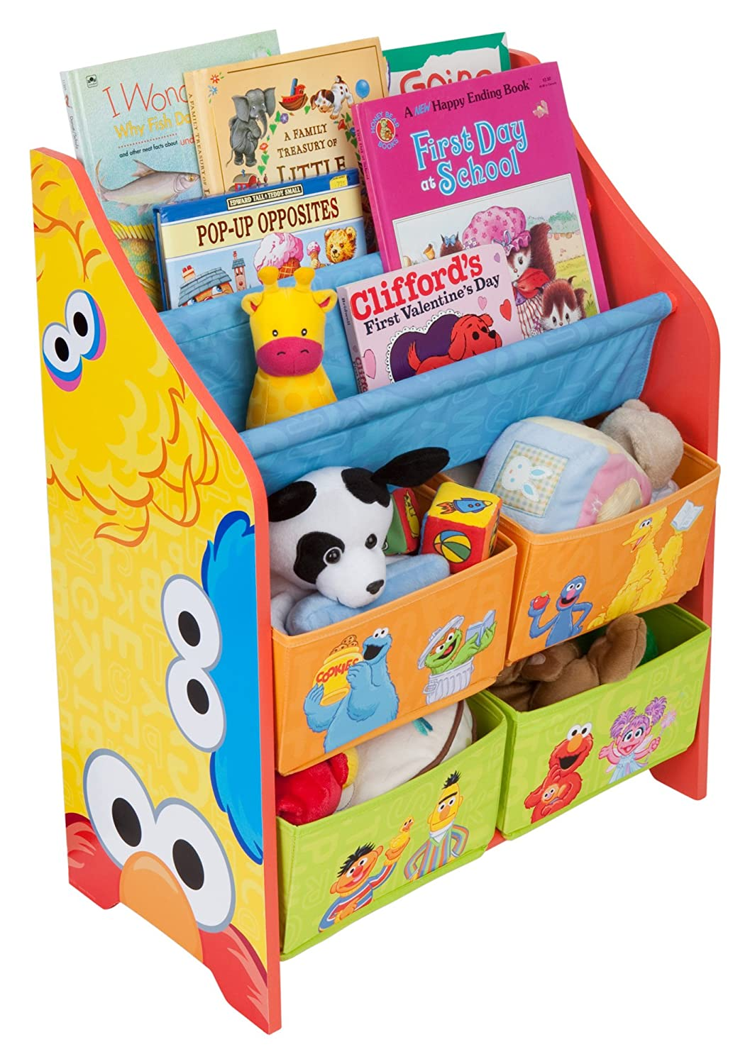 Amazon.com: Sesame Street Book And Toy Organizer(Discontinued By  Manufacturer): Toys U0026 Games