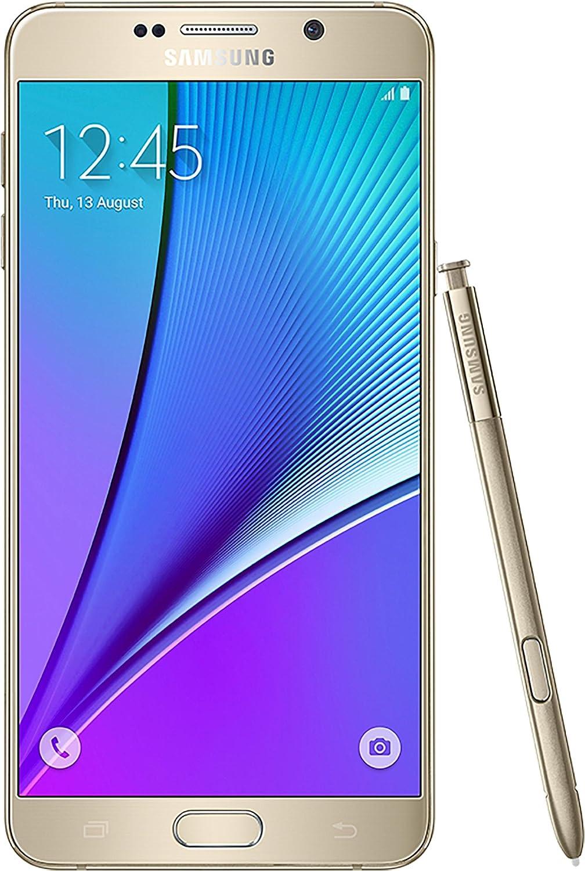 Amazon Com Samsung Galaxy Note 5 32gb Gold Platinum At T Unlocked