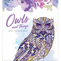 Owls and Things Adult Coloring Book
