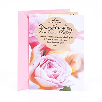 Amazon dayspring confirmation greeting card for granddaughter dayspring confirmation greeting card for granddaughter theres something special about m4hsunfo