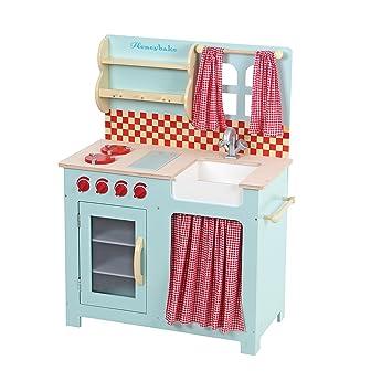 Le Toy Van Honeybake : cocina de madera de juguete: Amazon.es ...