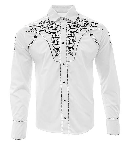 quality design 33ccd d33b5 El General Cowboy Shirt Camisa Vaquera Western Wear Long ...