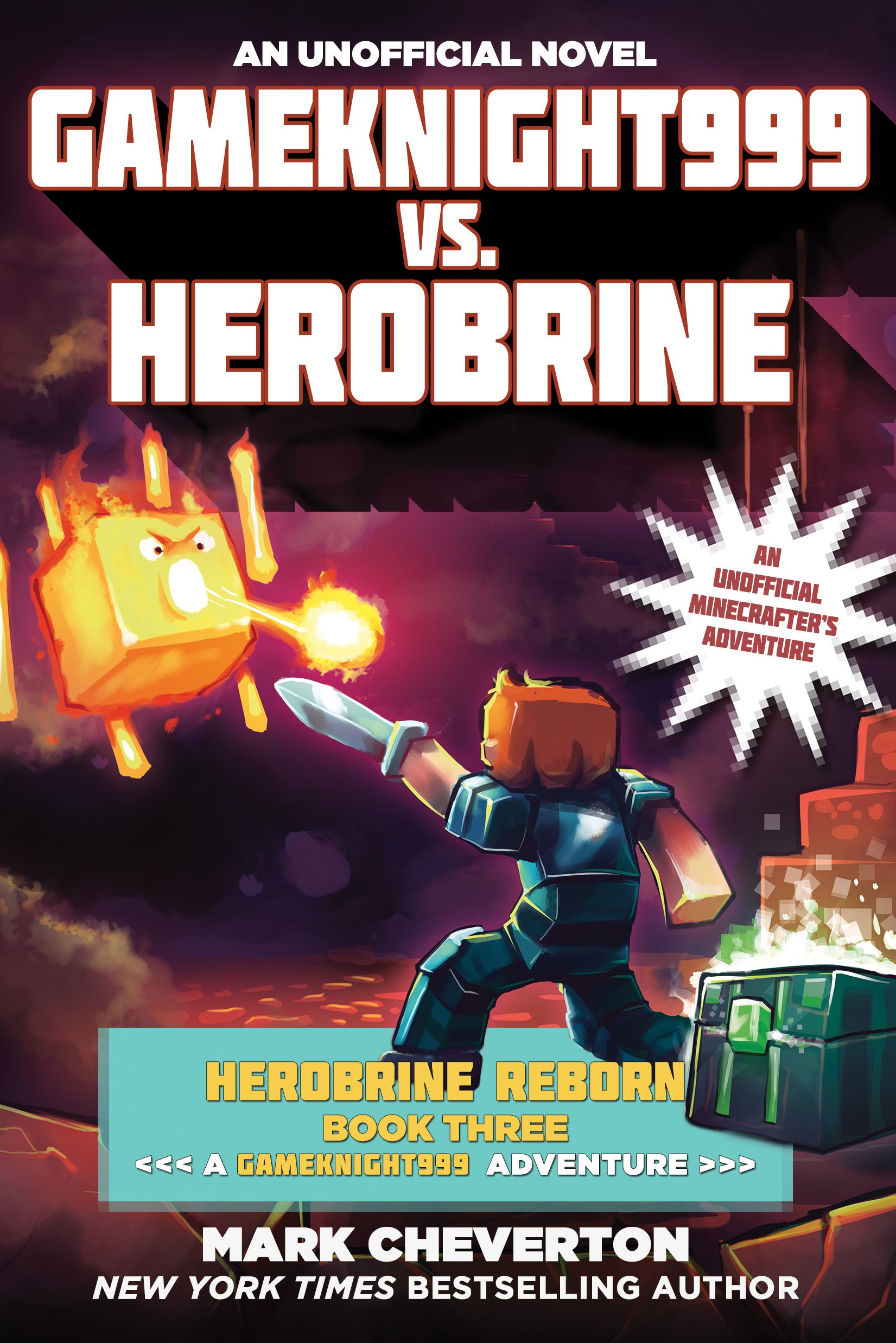 Gameknight999 vs Herobrine Unofficial Minecrafter s product image