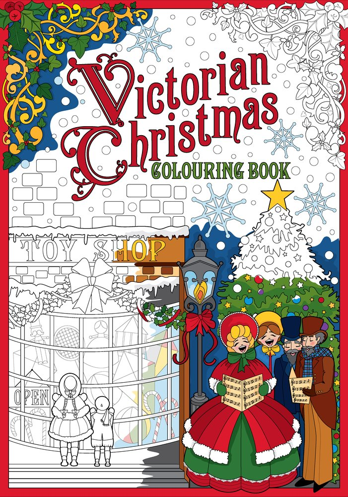 - Amazon.com: Victorian Christmas Colouring Book (9781841657424): The History  Press: Books