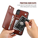 iPhone Xs iPhone X Wallet Case with Card