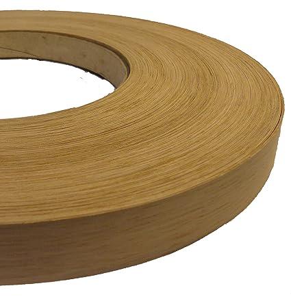 """Red Oak pre glued 13//16/""""x250/' wood veneer edge banding"""