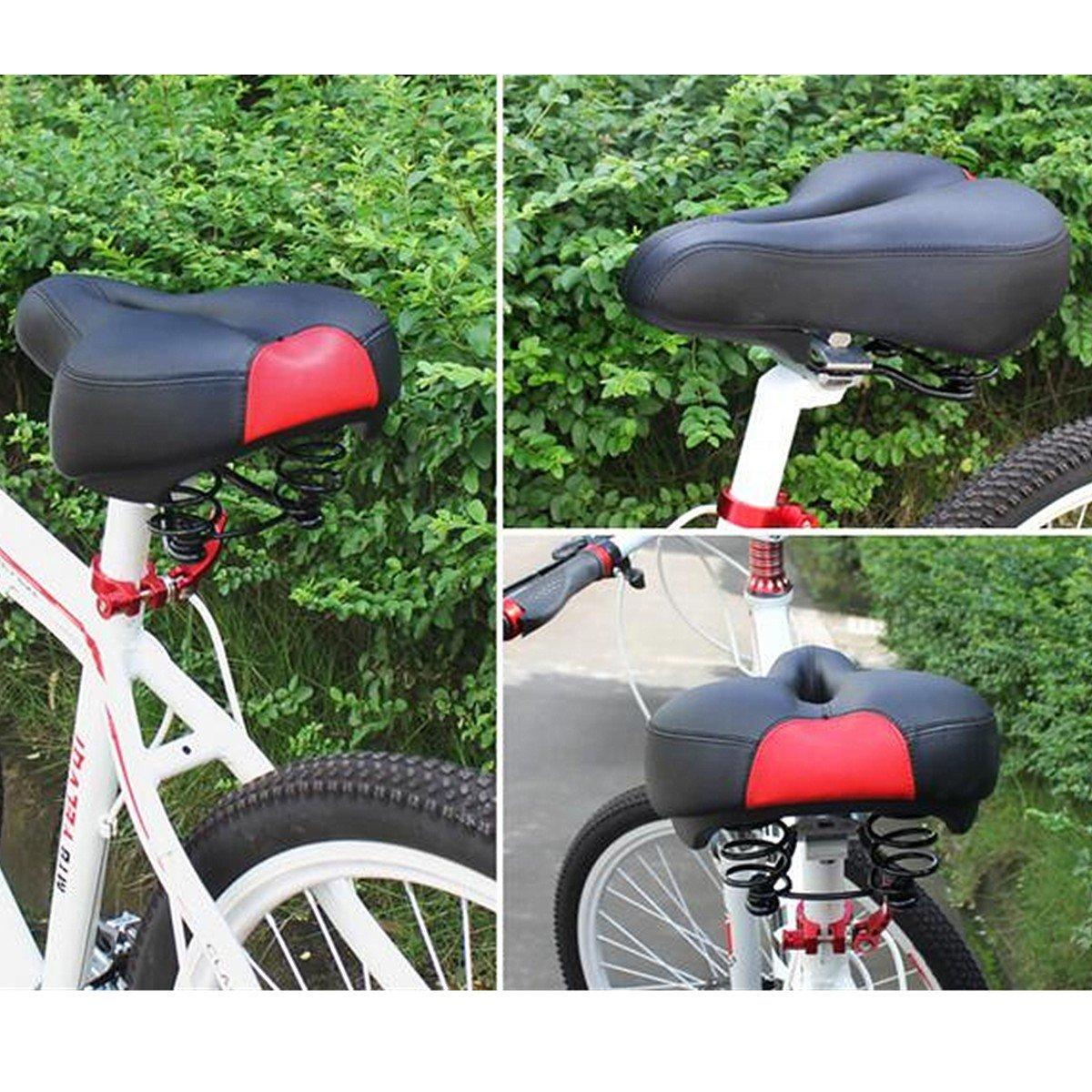TENGGO Wide Bum Bicycle Foam Cruiser Cruiser Cruiser Extra Comfort Sporty Soft Pad Saddle Seat-Grün B07BS7PZD3 Multifunktionswerkzeug Qualitätsprodukte 7d0308