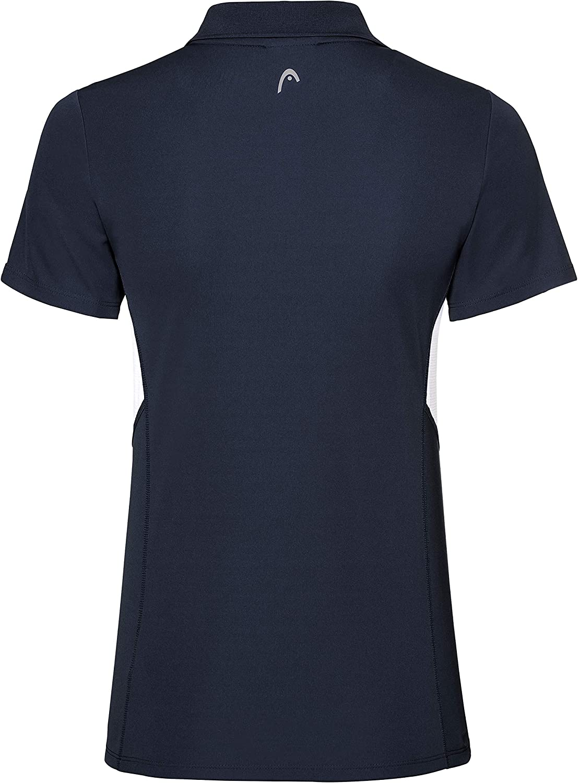 HEAD Childrens Club Tech Girls Polo Shirt