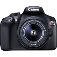 Canon EOS Rebel T6 Digital SLR Camera Kit with EF-S 18-55mm f/3.5-5.6 DC III Lens