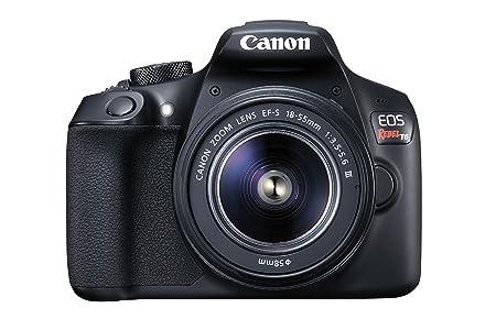 Canon Digital SLR EOS Rebel T6 Kit con lente EF-S 18-55mm, f/3.5-5.6 IS III