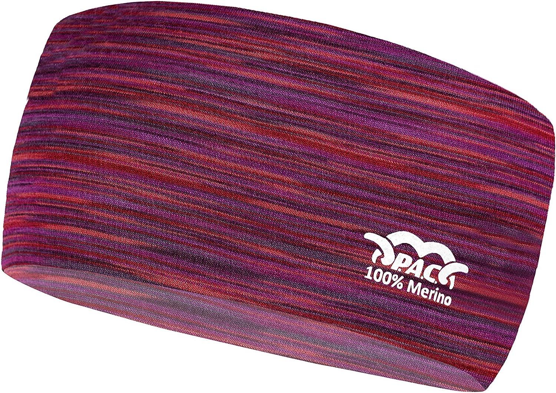 Funktionsstirnband Schwei/ßband nahtloses Stirnband Stirnband mit Reflektoren Reflector Headband Outdoortuch verschiedenste Designs Sport Headband Ohrenschutz P.A.C Unisex,