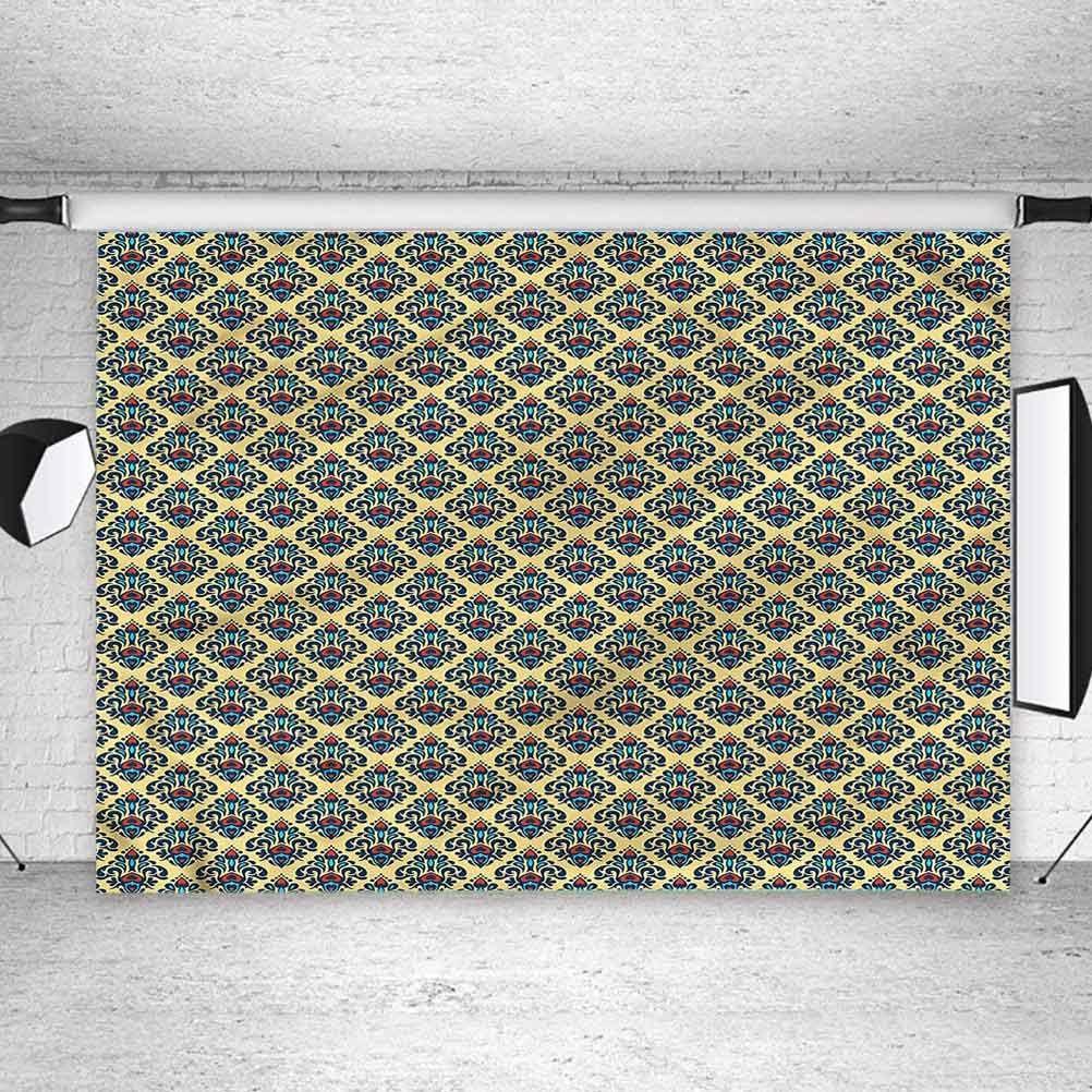 8x8FT Vinyl Photo Backdrops,Geometric,Monochrome Line Pattern Photoshoot Props Photo Background Studio Prop