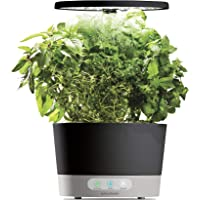 AeroGarden Harvest 360 with Gourmet Herb Seed Pod Kit (Black)