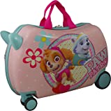 "Nickelodeon Paw Patrol Carry On Luggage 20"" Kids Ride-On Suitcase Optional Bonus Activity Pack"