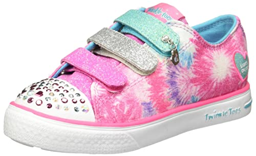 d59331813db SKECHERS 10657L Tenis con luces para Niña  Amazon.com.mx  Ropa ...