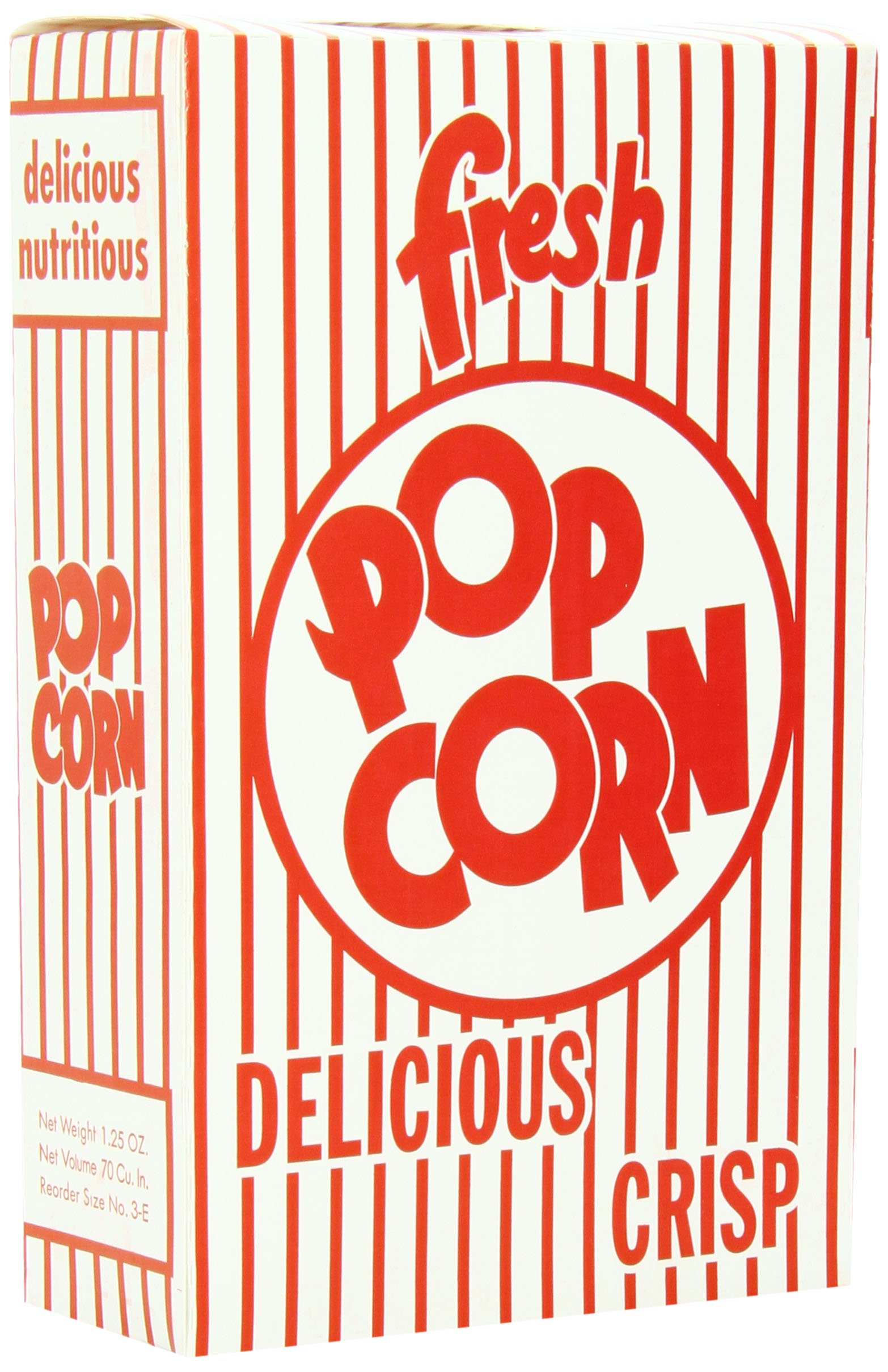 Snappy Popcorn 3E Close-Top Popcorn Box, 100/Case, 6 Pound by Snappy Popcorn