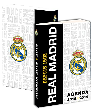 Agenda scolaire REAL MADRID 2018/2019 - Collection officielle - Rentrée sco.