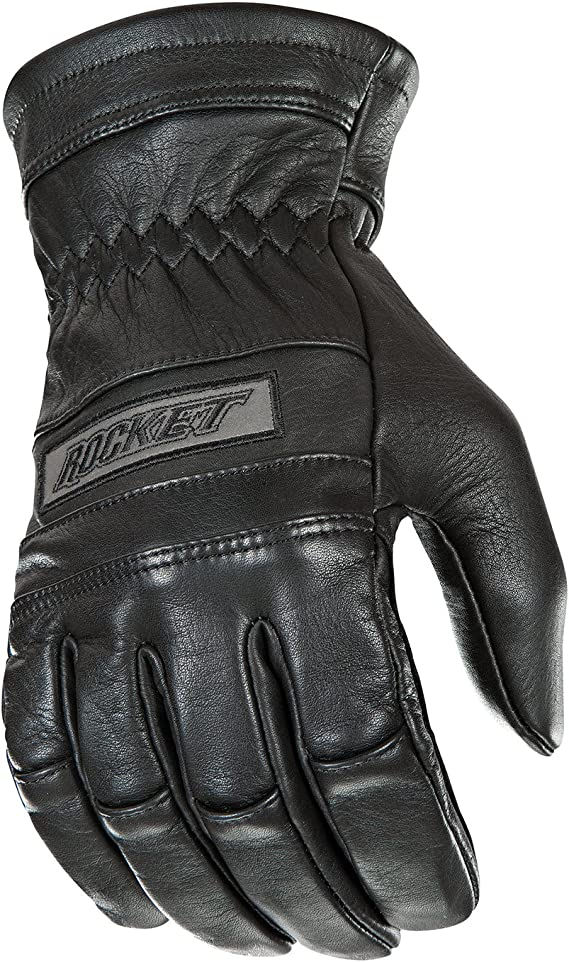 Joe Rocket Classic Men's Motorcycle Riding Gloves (Black