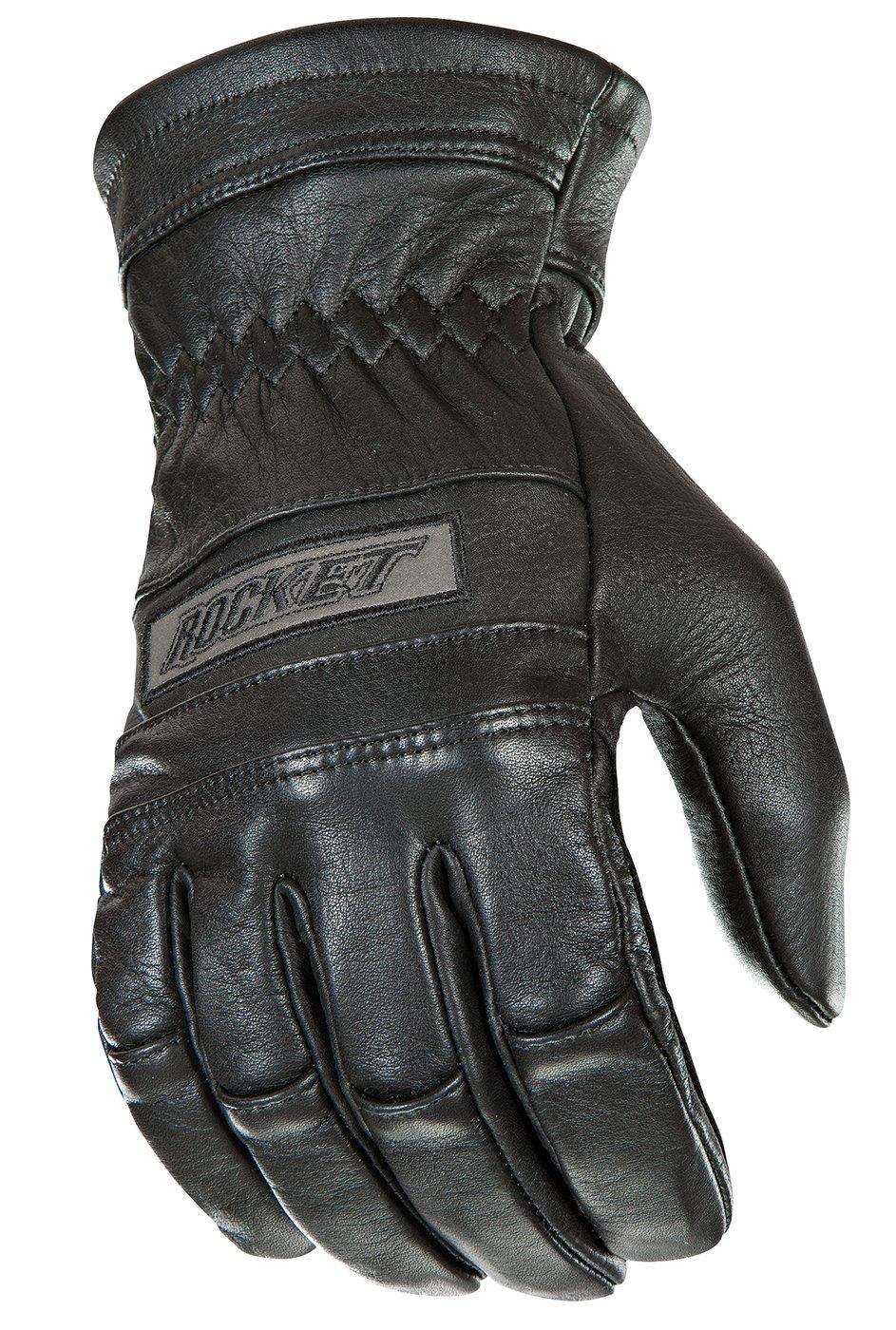Joe Rocket Classic Men's Motorcycle Riding Gloves (Black, XX-Large)