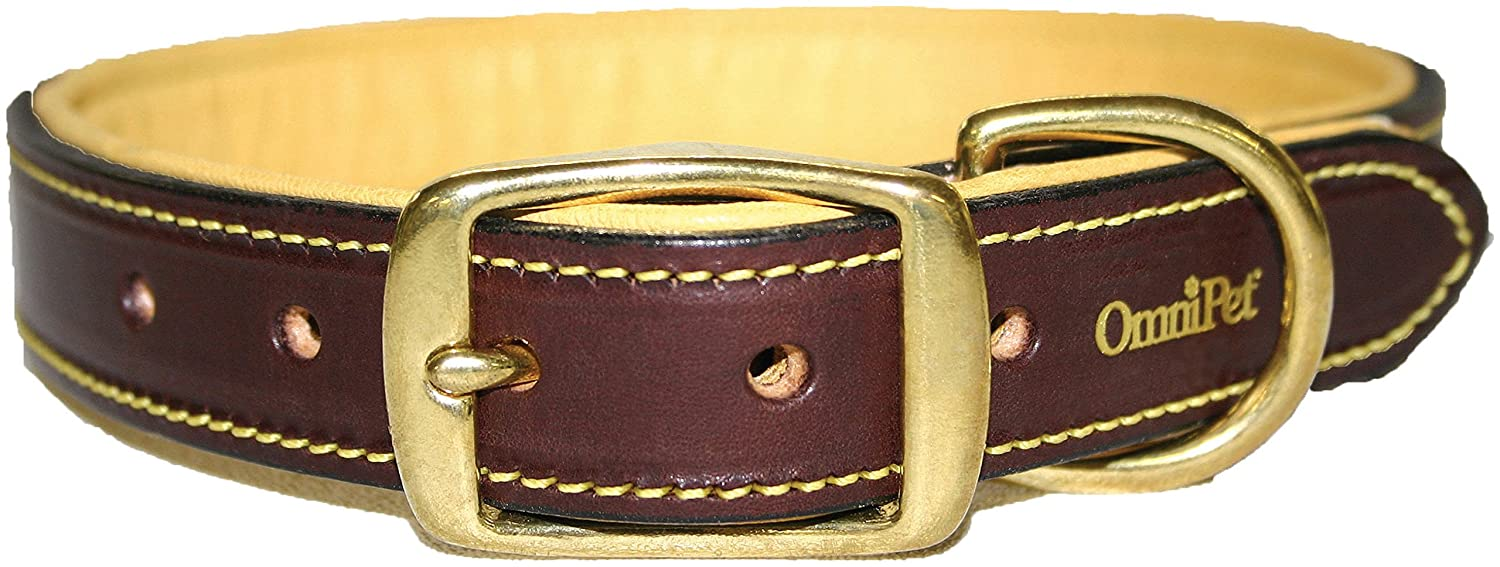 Brown 3 4\ Brown 3 4\ OmniPet 4752-23 3 4  x 23  Deer Tan Collar, X-Large, Brown