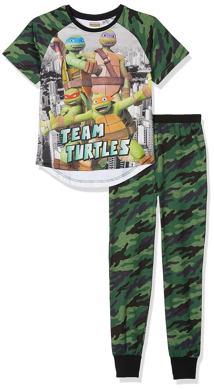TMNT - Teenage Mutant Ninja Turtles Camouflage, Conjuntos de Pijama para Niños