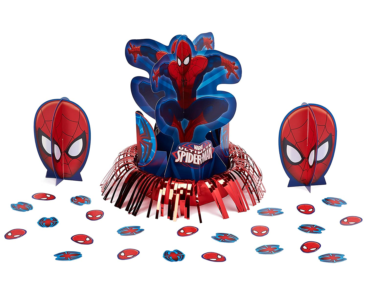 amazon com spider man table decorations party supplies toys u0026 games