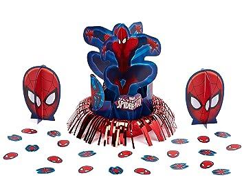 Amscan International - Cubertería para fiestas Spiderman (281355): Amazon.es: Juguetes y juegos