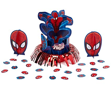 Spider Man Table Decorations Party Supplies