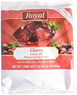 product image for Royal Cherry Gelatin, 24 Ounce -- 6 per case.