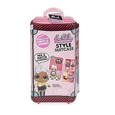L.O.L. Surprise! Style Suitcase Electronic Playset - D.J: Toys & Games