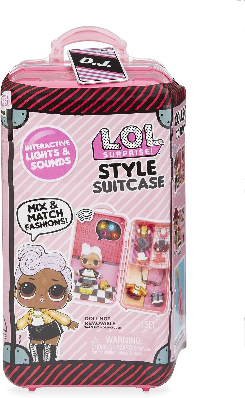 L.O.L. Surprise! Style Suitcase Electronic Playset - D.J