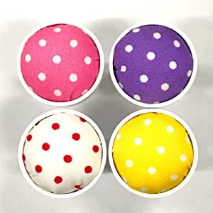 Attachable Pin Cushions (4 Color Set) for Janome Sewing Machines