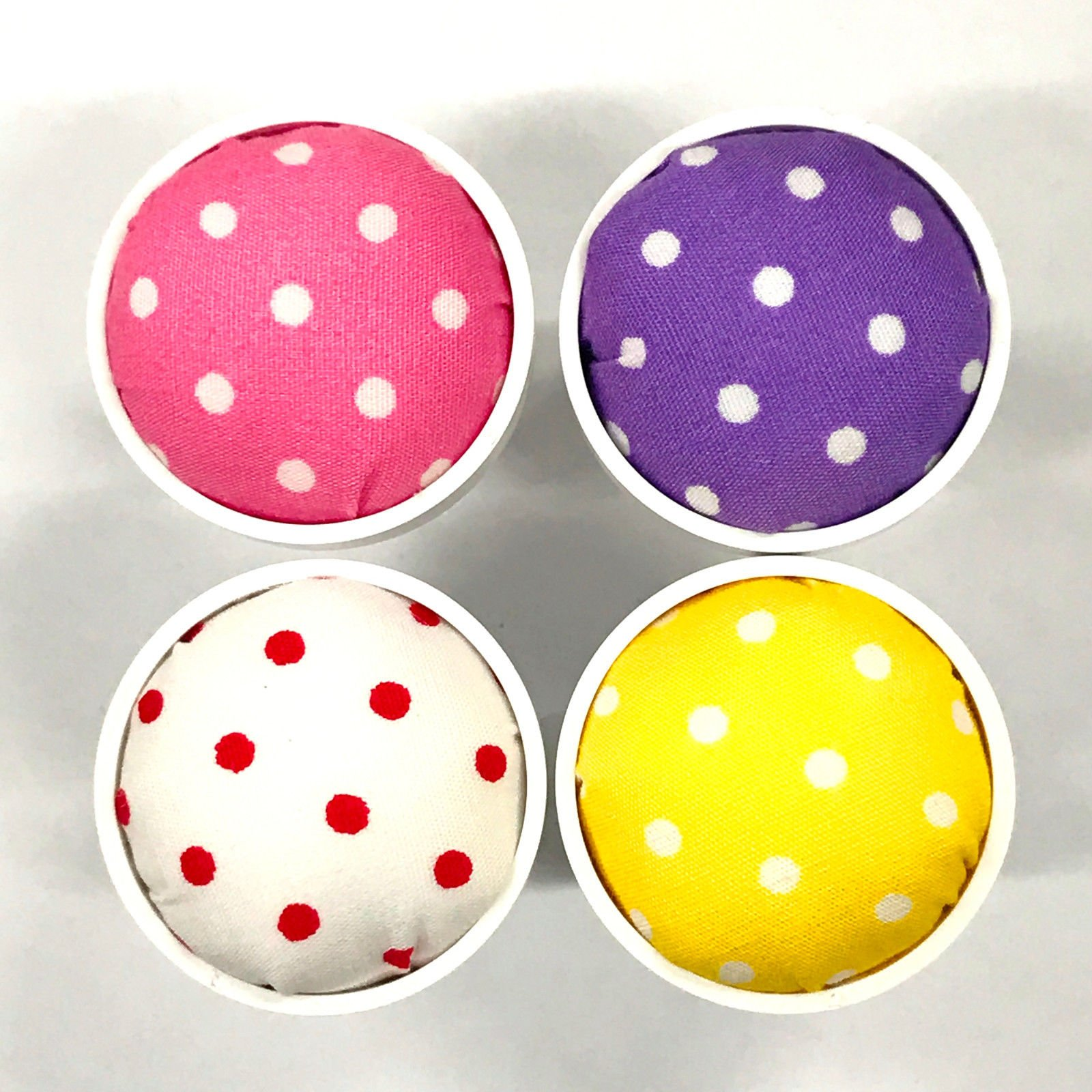 Attachable Pin Cushions (4 Color Set) For Janome Sewing Machines by Janome-1
