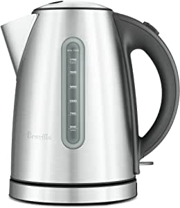 Breville Soft Top Kettle, Brushed Stainless Steel BKE425BSS