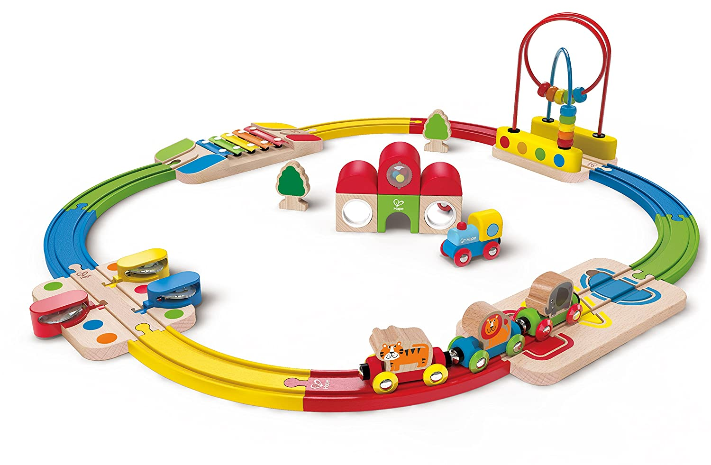 Hape E3816 Railway Spielzeug-Erlebnis Eisenbahn-Set Eisenbahn-Set Eisenbahn-Set d849c4