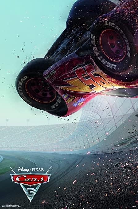"cars 3 poster  Trends International Disney Pixar Cars 5 - One Sheet Wall Poster, 5.575"" x  54"", Premium Unframed"