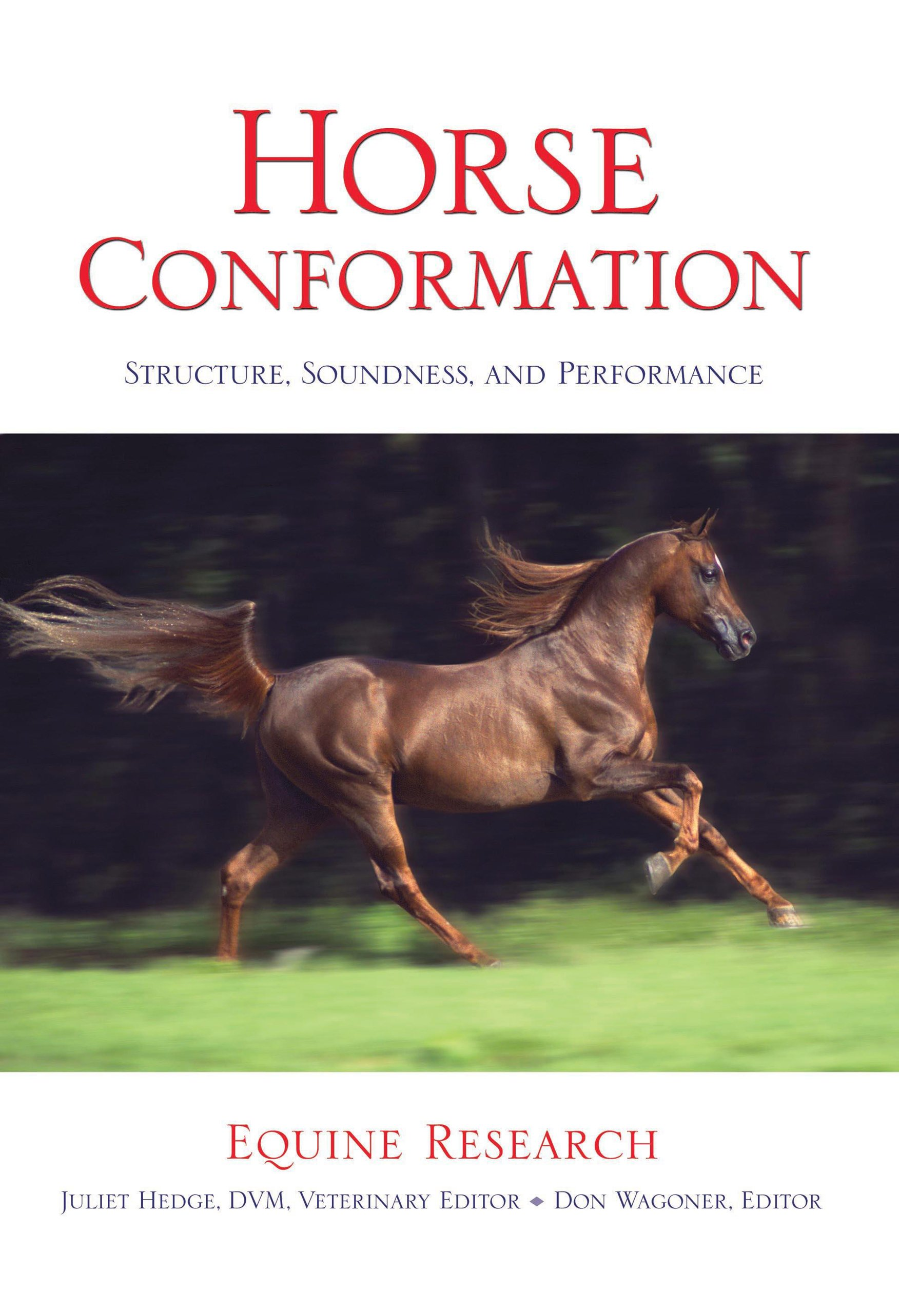 Horse Conformation: Structure, Soundness, and Performance: Equine ...