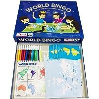 Traveller Kids World Bingo