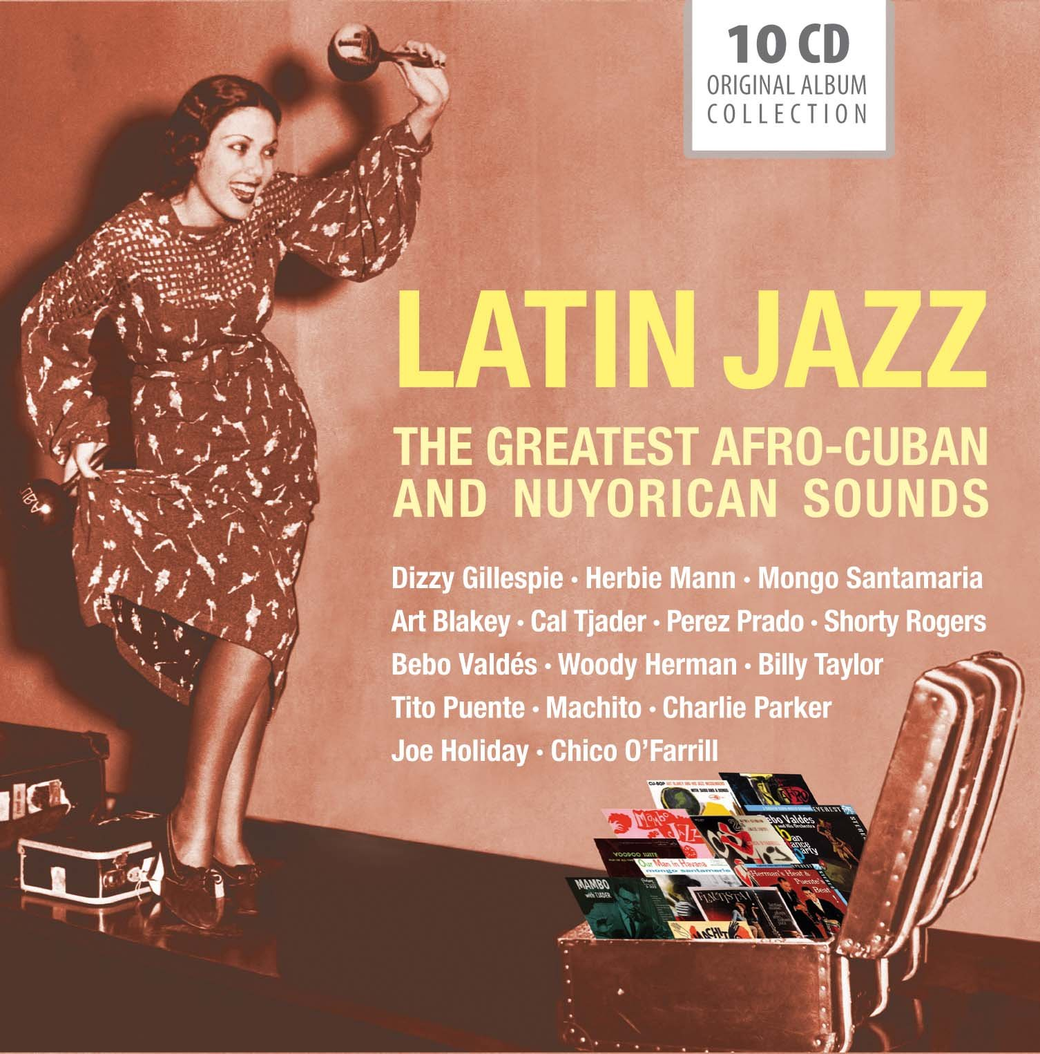 Latin Jazz: The Greatest Afro Cuban and Nuyorican Sounds by Imports